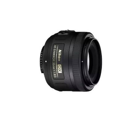 Nikon AF-S DX NIKKOR 35 mm f/1.8G Lens (Black) with 2 Years Warranty