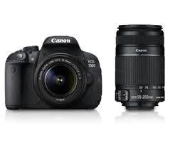Canon EOS 700D (EF S18-55 IS II & 55-250 Lens) DSLR Camera