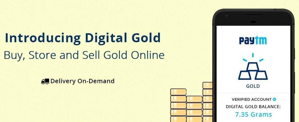 Now Buy, Sell and Store Gold Online with Paytm
