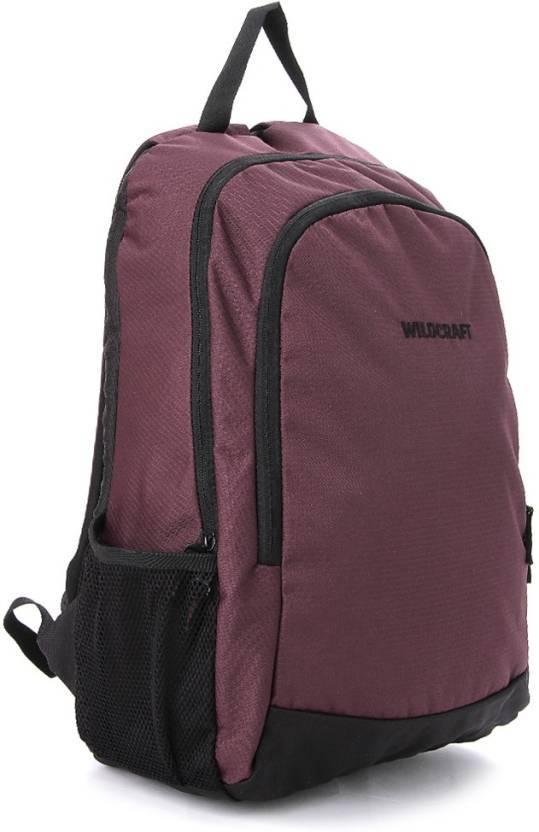 Wildcraft Pivot Purple Medium Backpack ( For Men )