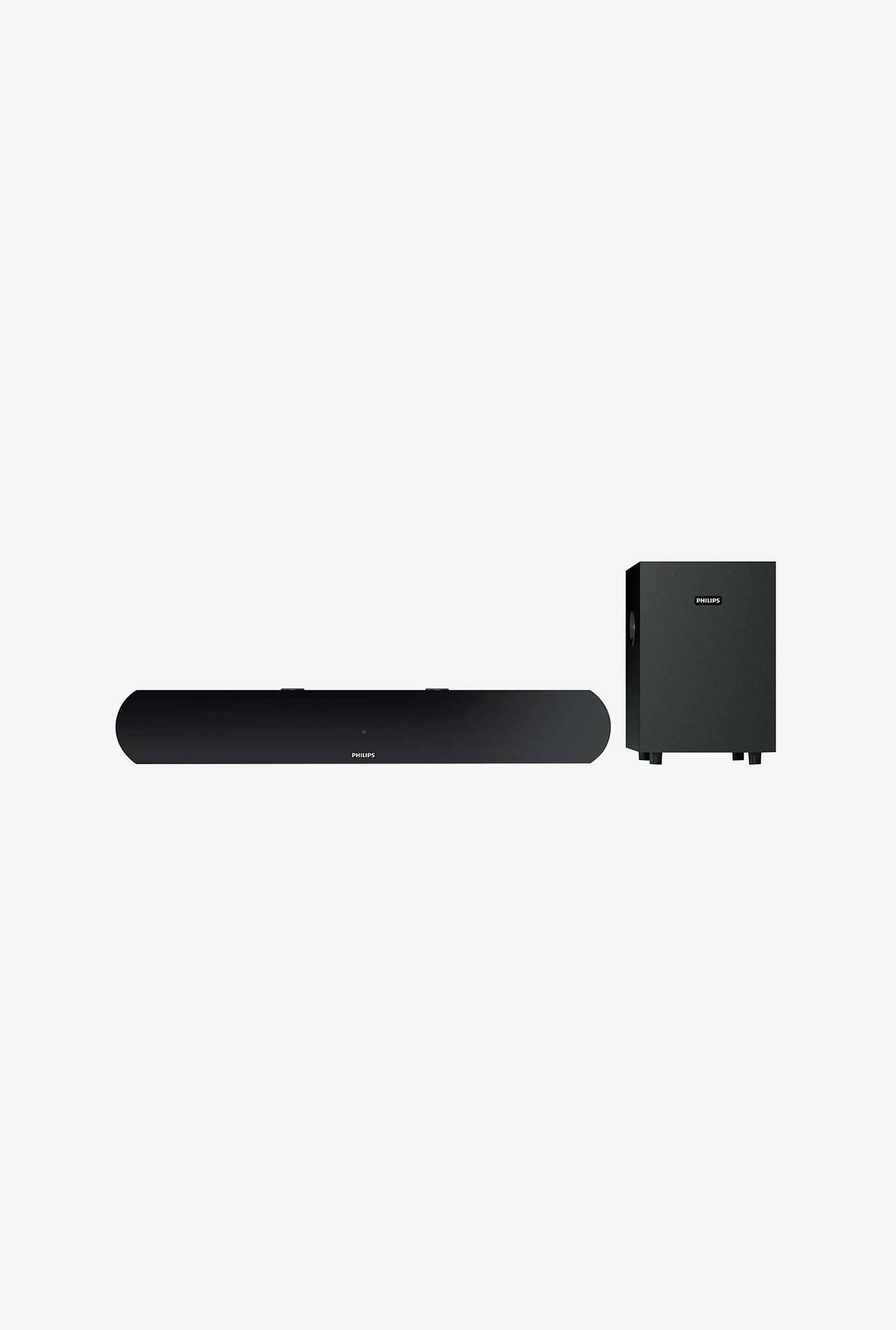 Philips HTL1031/94 2.1 Channel Soundbar Speaker (Black)