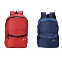 Chris & Kate Combo-Pack of 2Pcs Small Casual Backpack   College Laptop    Tuition Bag    Multi-Purpose Bag(20 litres)- Amazon