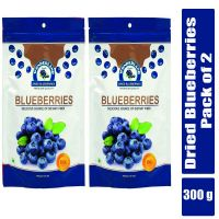 [LD] Wonderland Dried Blueberry 300g Combo Pack of 2 (150g Each)- Amazon