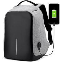 Rewy Unisex Multi-Functional Grey Backpack AB_5673- Amazon