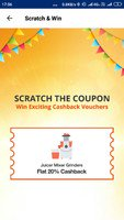 Scratch and Win :- Flat Discount Coupo...