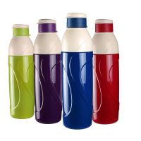 Cello Puro Insulated Water Bottle, 900ml, Set of 4, Assorted- Amazon