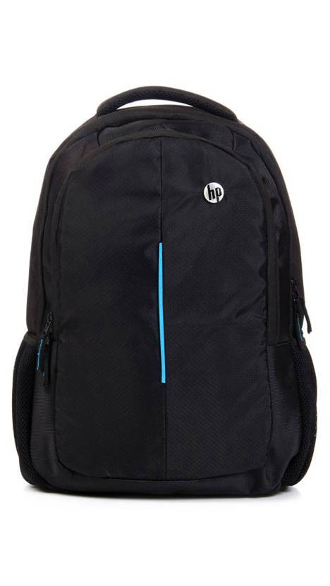 HP 15.6 inch Laptop Backpack  (Black) With 2 Compartments