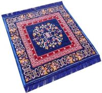 Kihome Velvet Prayer Mat  (Blue,Red, Small)- Flipkart