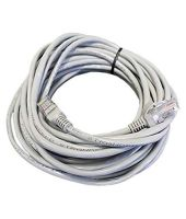 [LD] Quantum CAT5 RJ45 5E 3M Ethernet Patch Cord (White)- Amazon