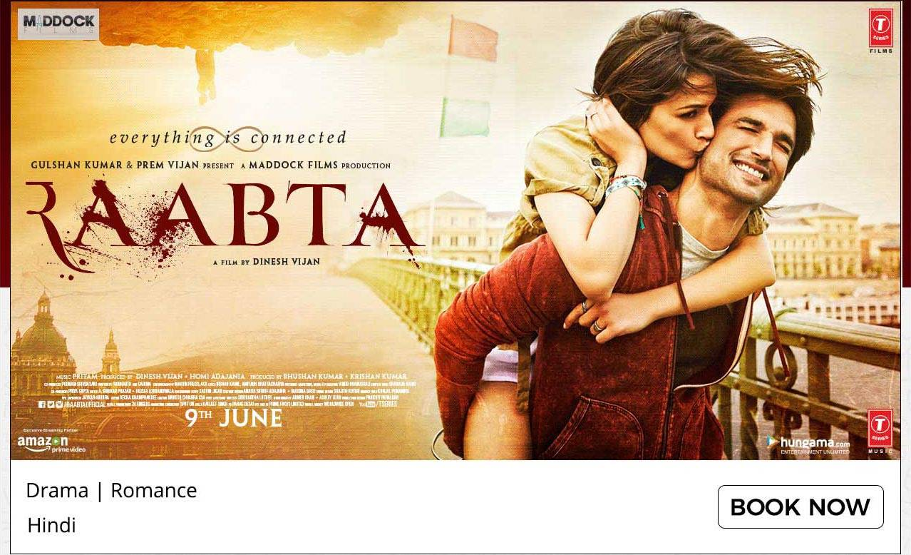 Get 50% Cashback On Raabata Ticket Booking @paytm