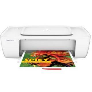 HP DeskJet 1112 Printer Single Function Color Printer (White)