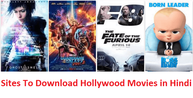 Top 10 websites To Download Full HD New Hollywood Movies in Hindi For Free