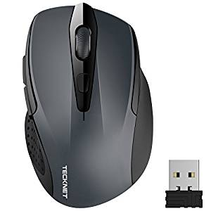 TeckNet M003 Pro 2.4G Ergonomic Wireless Mobile Optical Mouse at Rs. 699 - Amazon