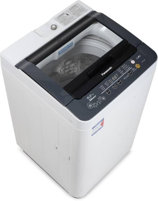 Panasonic 6.2 kg Fully Automatic Top Load Washing Machine Grey (NA-F62B3HRB) Rs.12999 - Flipkart