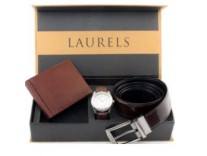 Laurels Belts, Wallets & Gift Sets Minimum 70% off from Rs. 99- Amazon