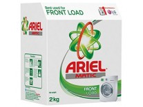 Ariel Matic Front Load Detergent Washing Powder 2kg Rs. 360 (Pantry) or Rs. 405- Amazon