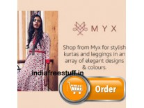 Myx Women's Clothing Minimum 50% off from Rs. 244 - Amazon