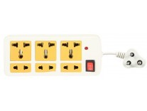 Generic 6+1 Extension Cord with 3 Meter wire Rs.119 - Amazon