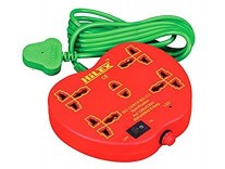 Hilex 5+1 apple shape Extension cord with 2.75 Meter Rs.225 @ Amazon