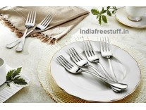 Solimo 6 piece Stainless Steel Fork Set Rs.239 @Amazon