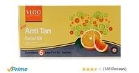 Amazon- VLCC Anti Tan Single Facial Kit worth Rs.250 at Rs.113 Only