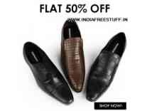 Provogue Men's Footwear 70% off from Rs. 389- Amazon
