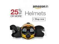 Helmets Minimum 25% off from Rs. 433- Amazon