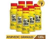 Pet Saffa Ayurvedic Constipation Powder 100gm + 20gm Free Pack Of 7 Rs. 399 @ Amazon