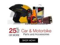 Car & Bike Parts & Accessories minimum 70% off from Rs. 49 @ Amazon