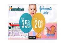 Johnson's & Himalaya Baby Care Min 35% off from Rs. 144 @ Amazon