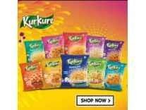 Kurkure Namkeen 1kg upto 18% off from Rs. 182- Amazon