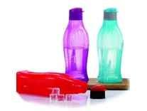 Varmora Rio Flip Polypropylene Bottle 750ml Multicolor Set of 3 Rs.159
