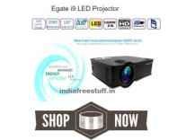 Egate i9 LED Projector Rs. 6499 - Amazon