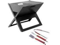 Godskitchen Notebook Shape Barbeque Toaster + 3pc tool set Rs. 1699 - Amazon