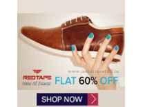 Red Tape Footwear 71% off from Rs. 569 @ Flipkart