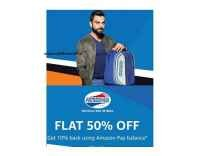 American Tourister Bags & Wallets Min. 50% off from Rs. 437 - Amazon