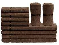 Story@Home Solid 10 Piece 450 GSM Cotton Face Towel Set Rs. 199 @ Amazon