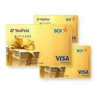 Youfirst BOI Visa -20000 card @6.25% off(Icici and Stan C) Free Shipping