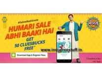 ShopClues App Free 50 Cluebucks on Download