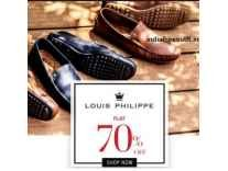 Louis Philippe Men's Footwear 70% off from Rs. 779- Amazon