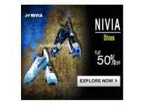 Nivia men's Shoes 70% off from Rs. 243 - Amazon