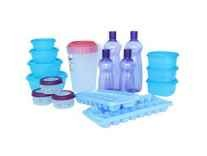 Princeware Plastic Refrigerator Jar Set of 17 Rs. 471 - Amazon