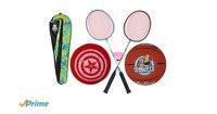 Disney Avenger Sport Combo (1 Basketball, 1 football, 2 badminton racquet and...