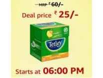 Tetley Green Tea Ginger Mint Lemon 10 Tea Bags Rs. 25 - Amazon