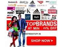 Clothing Top Brands Minimum 70% off from Rs. 76 @ Amazon