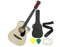 Jixing JXNG 6 Strings Acoustic Guitars With Combo Rs.1899 - Amazon
