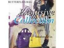 Butterflies Handbags, Wallets & Clutches Minimum 80% off from Rs. 275 @ Amazon