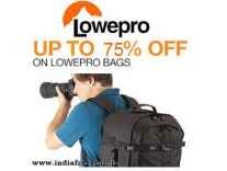 Lowepro Camera Bags Minimum 30% off from Rs. 1399 @ Amazon
