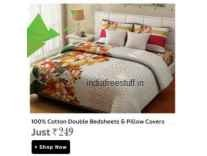 Bedsheets 50% to 91% off from Rs. 169 @ Flipkart