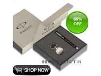 Parker Vector Spark Roller Ball Pen + Key Chain Gift Set Rs. 219 @ Amazon